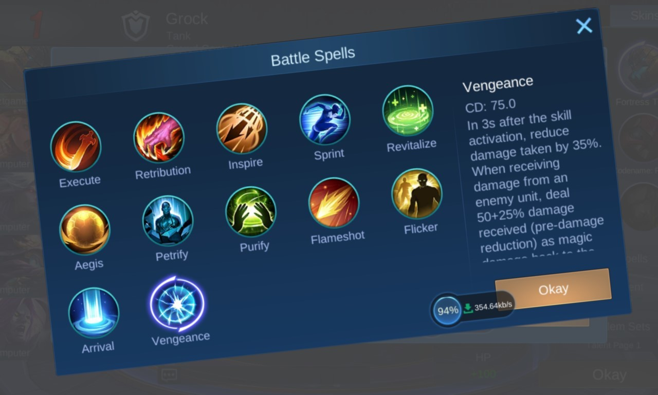 Cara Mengganti dan Buka Battle Spell Mobile Legend Header