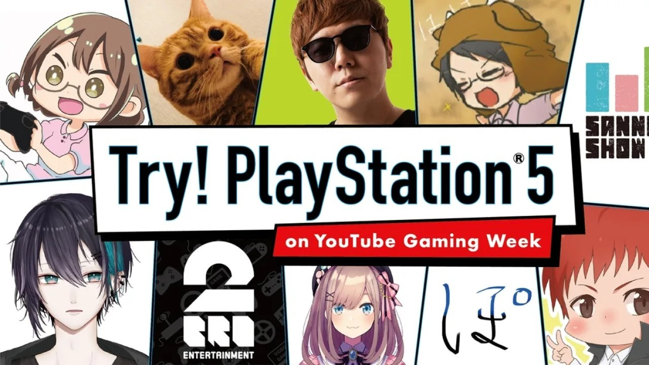 YouTube Gaming Week Hands-on PlayStation 5 Header