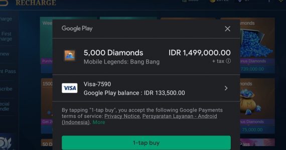 Mobile Legend 5000 Diamond